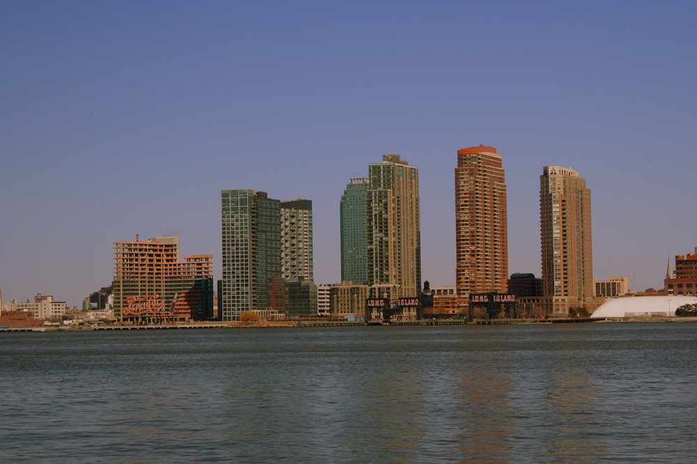 Long Island City from 34th Street, 2008